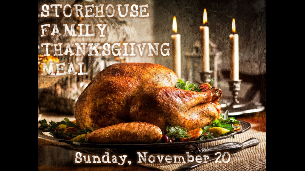 Family Thanksgiving Meal Marketig Slide - ao10-4-16